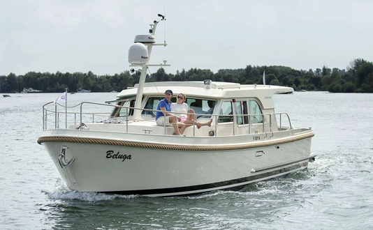 Linssen Grand Sturdy 40.0 Sedan Long Top Beluga